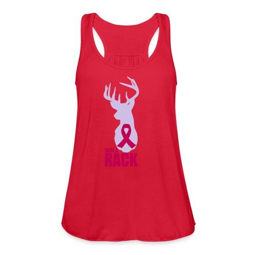 Save a Rack - Women's Flowy Tank Top by Bella