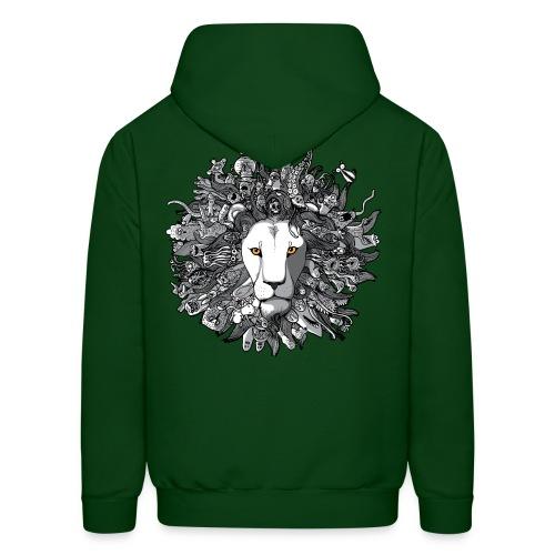 Green Lion - Men's Hoodie