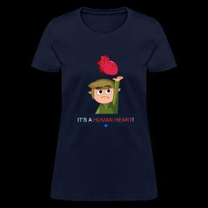Human Heart (Girls) - Women's T-Shirt