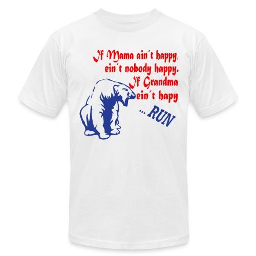 If Grandma ain´t happy - Men's  Jersey T-Shirt
