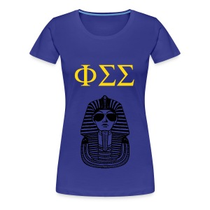 Phi Sigma Sigma Go Greek Or Go Home Women's T-Shirt - Women's Premium T-Shirt