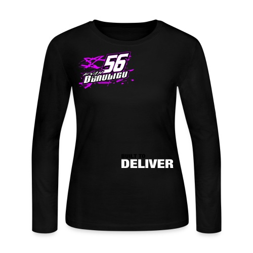 EB56 Built To Deliver Shirt 4 - Womens - Women's Long Sleeve Jersey T-Shirt