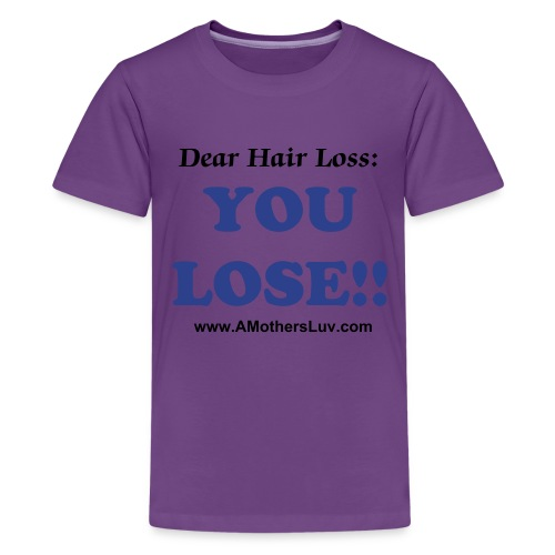 Kid's Premium Dear Hair Loss T-Shirt - Kids' Premium T-Shirt