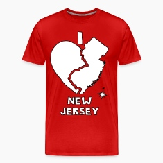 i heart New Jersey (red) T-Shirts
