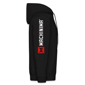 Machinima logo on front and sleeve - Men's Hoodie