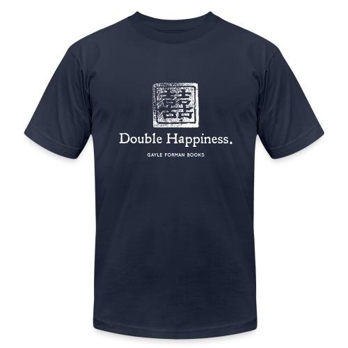 Double Happiness Men's Dark T-Shirt - Men's  Jersey T-Shirt
