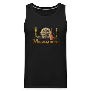 Milwaukee Flag - Men's Premium Tank