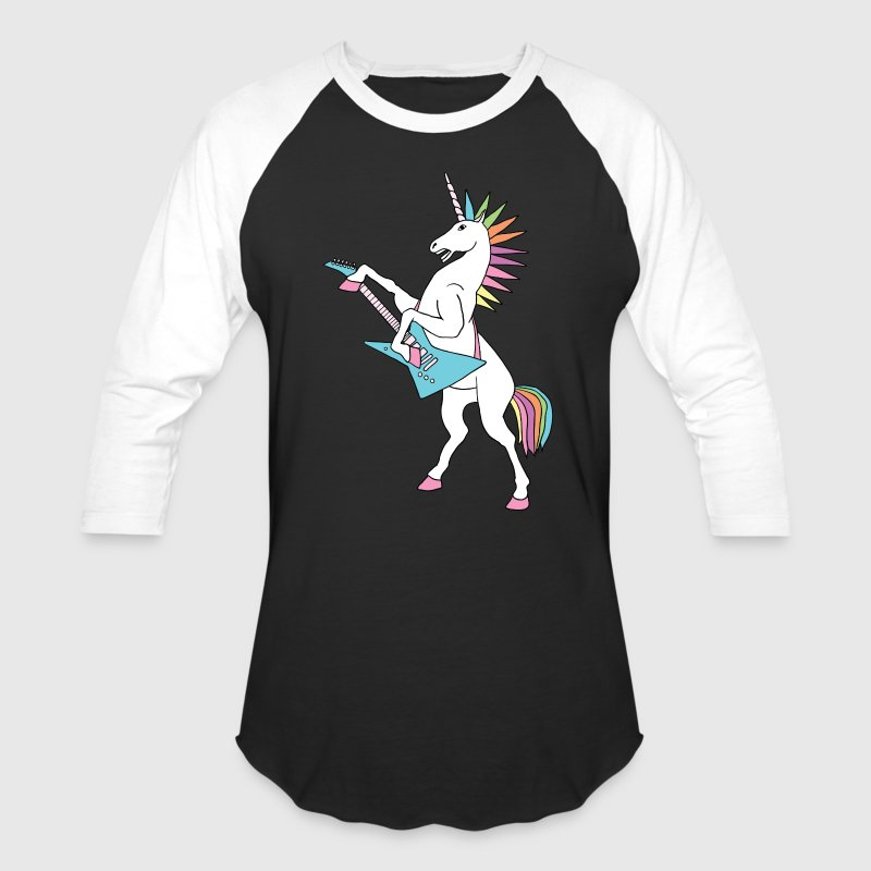 punk rock unicorn T-Shirts - Baseball T-Shirt