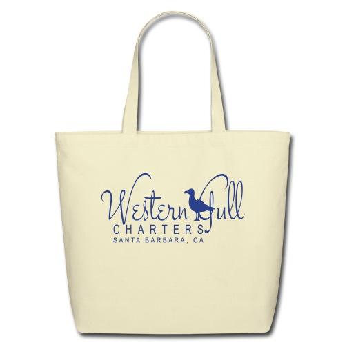 WGC Fishing Blue - Eco-Friendly Cotton Tote