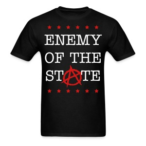 Enemy of the State (Anarchist Communism) - Men's T-Shirt