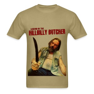 HILLBILLY BUTCHER 1974 tee - Men's T-Shirt