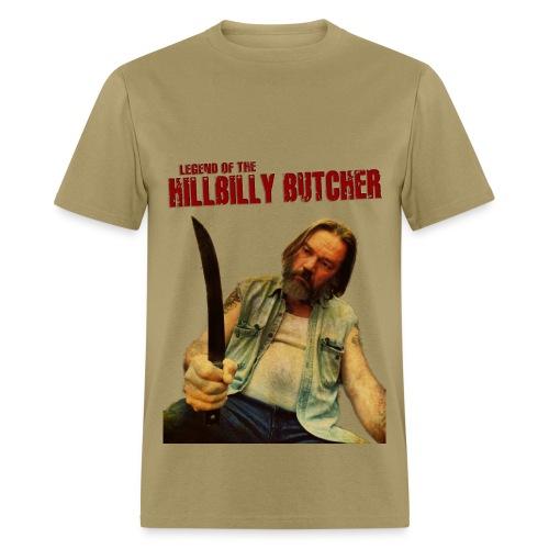 HILLBILLY BUTCHER 1974 tee - Men's T-Shirt