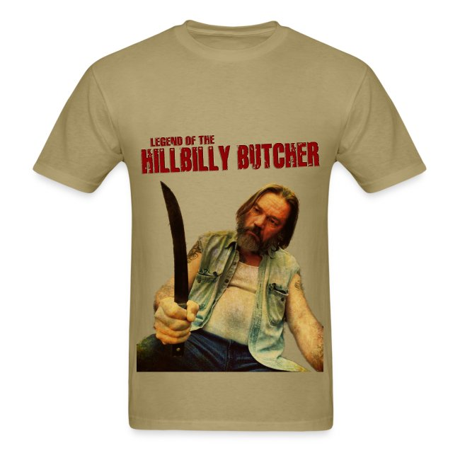 """HILLBILLY BUTCHER"" 1974 tee"