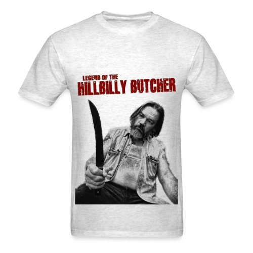 HILLBILLY BUTCHER 1968 tee - Men's T-Shirt