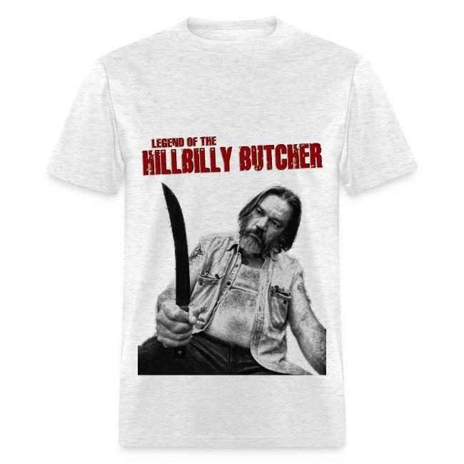 """HILLBILLY BUTCHER"" 1968 tee"