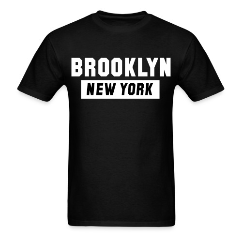 Kurt Boone Authentic New York Brooklyn Tee - Men's T-Shirt