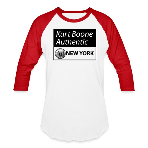 Kurt Boone Authentic New York Logo Tee - Baseball T-Shirt
