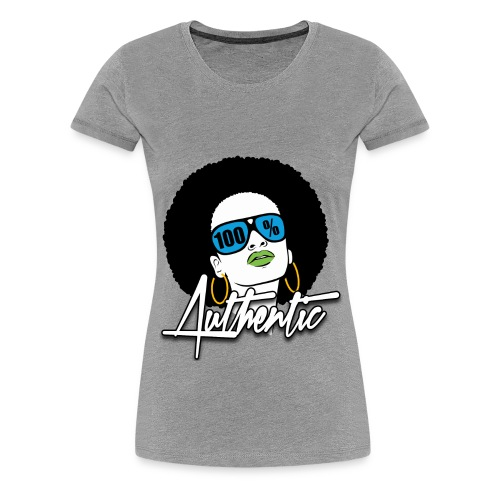 100% Authentic Premium T-Shirt - Women's Premium T-Shirt