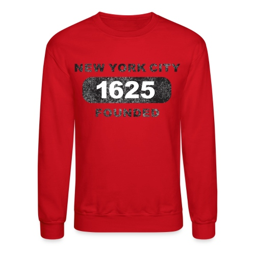Crewneck Sweatshirt - urban,streetwear,skateboarding,running,illustrations,bicycles,New York City,Messenger 841,Messenger,Kurt Boone Books,Kurt Boone