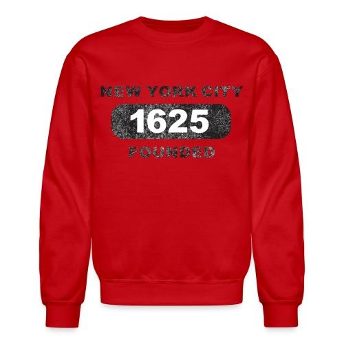 Crewneck Sweatshirt - urban,streetwear,skateboarding,running,illustrations,bicycles,New York City,Messenger 841,Messenger,Kurt Boone Books,Kurt Boone