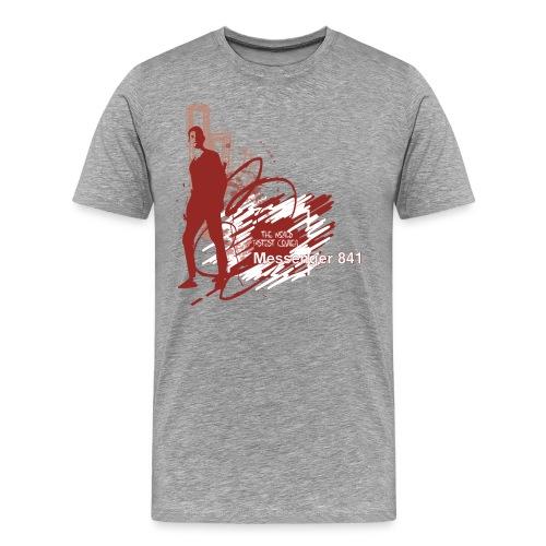 Messenger 841 Fastest Courier Tee - Men's Premium T-Shirt