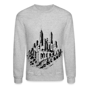 New York City Skyline Crew Sweatshirt - Crewneck Sweatshirt