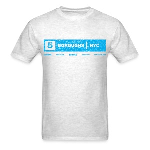 NYC 5 Borough Tee - Men's T-Shirt