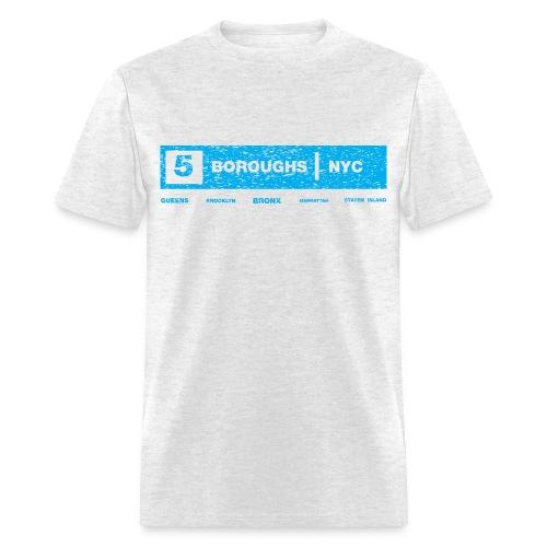 NYC 5 Borough Tee - Men's T-Shirt