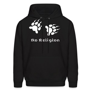 No Religion Paws hoodie  - Men's Hoodie
