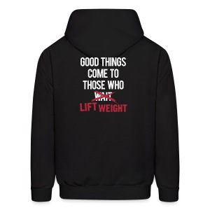 Good things come to those who lift | Mens hoodie - Men's Hoodie