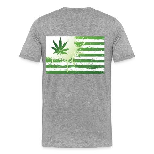 Weed Flag - Men's Premium T-Shirt