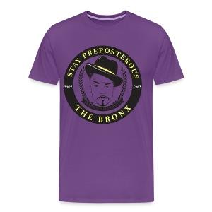 Stay Preposterous Official Men's Shirt (Purple) - Men's Premium T-Shirt