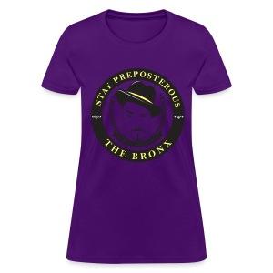 Stay Preposterous Official Woman's Shirt (Purple) - Women's T-Shirt
