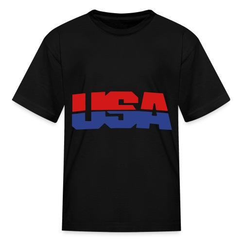 usa tshirt - Kids' T-Shirt