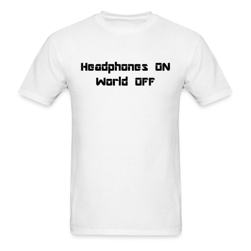 World off - Men's T-Shirt