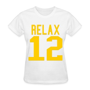 Relax 12 in Yellow - Women's T-Shirt