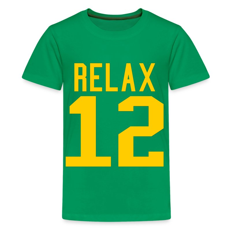 Relax 12 in Yellow - Kids' Premium T-Shirt