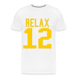 Relax 12 in Yellow - Men's Premium T-Shirt