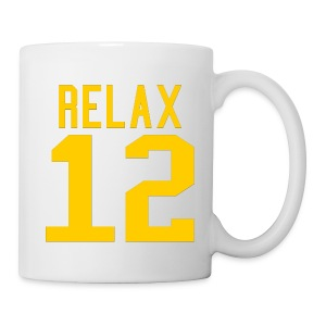 Relax 12 in Yellow - Coffee/Tea Mug