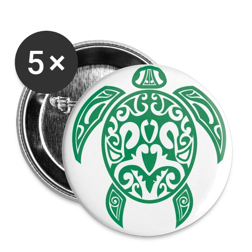 turtle button - Buttons small 1'' (5-pack)