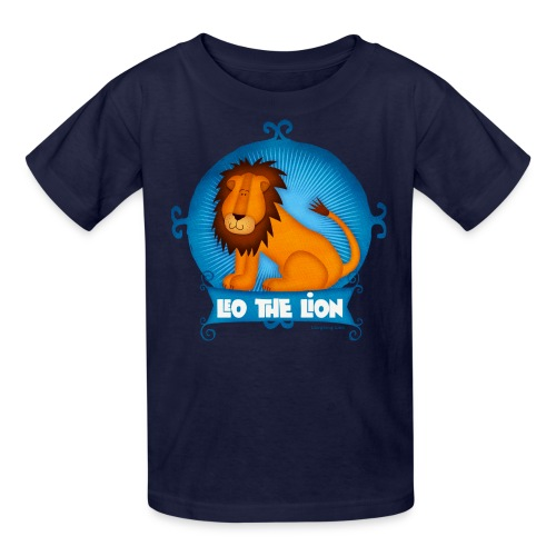 Leo The Lion  - Kids' T-Shirt