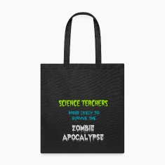 Canvas Tote Science Teacher