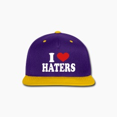 I Love haters Caps