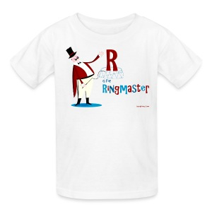 R is for Ringmaster - Kids' T-Shirt