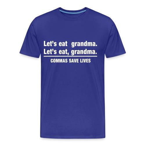 Punctuation - Men's Premium T-Shirt