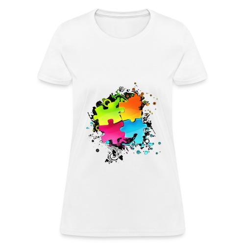 Puzzle Art - Women's T-Shirt