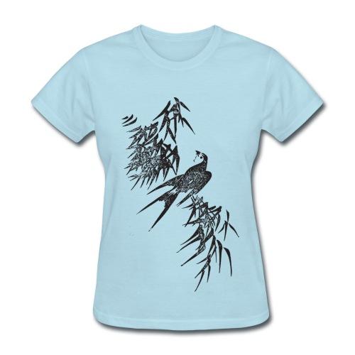Bird Art - Women's T-Shirt