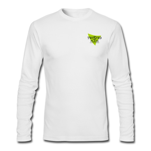 Twisted Long Sleeve Shirt - Men's Long Sleeve T-Shirt by Next Level