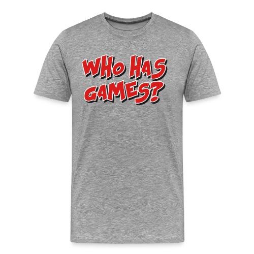 Mat Has Shirt - Men's Premium T-Shirt