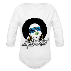 100% Baby Long Sleeve One Piece  - Long Sleeve Baby Bodysuit